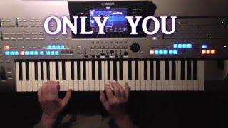 Only You - The Platters, Cover, eingespielt mit Titelbezogenem Style auf Tyros 4