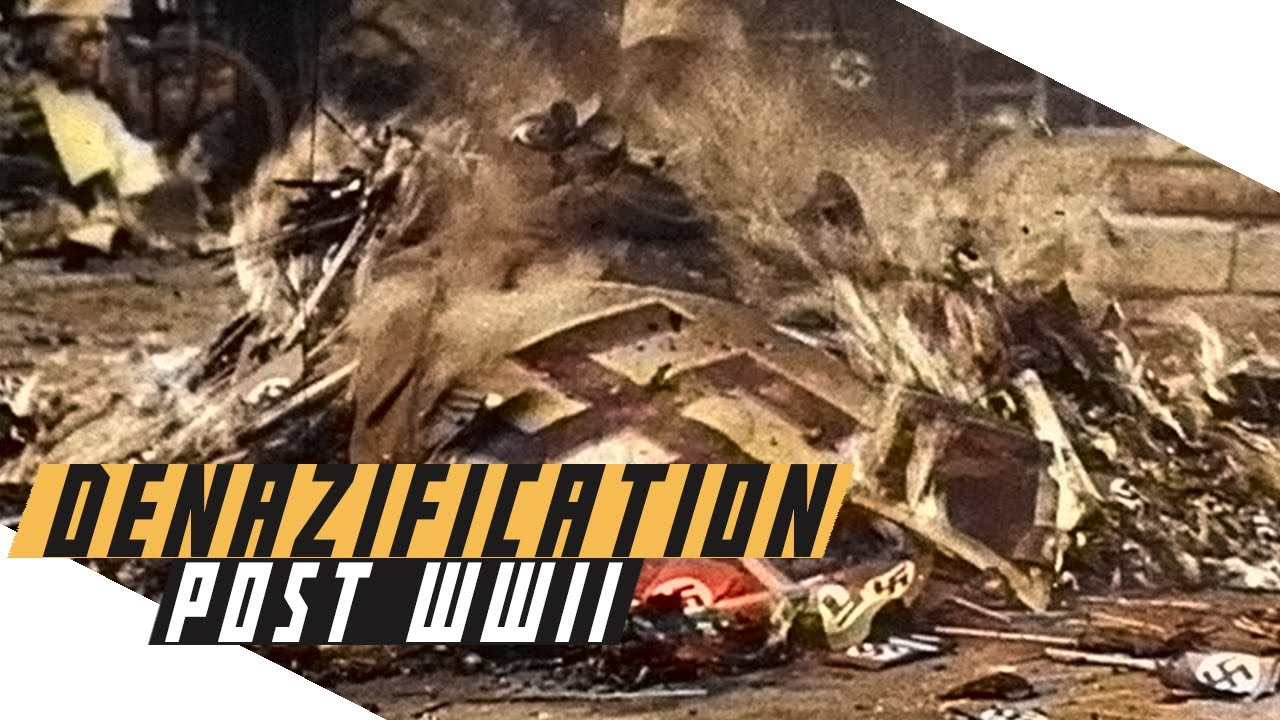 Denazification of Germany after World War II - Cold War Documentary