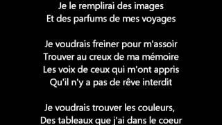 Celine dion - Parler a mon père Lyrics
