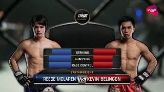 Kevin Belingon vs Reece McLaren width=