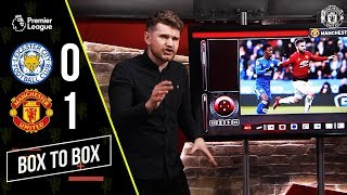 Box to Box | Leicester 0-1 Manchester United | Statman Dave Analysis & Tactics!