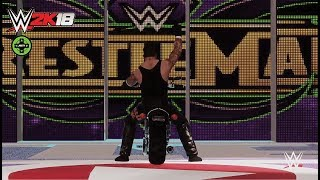 WWE 2K18 American Badass Undertaker Entrance!!!