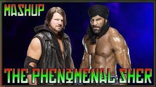 AJ Styles & Jinder Mahal - The Phenomenal Sher [Mashup] (CC)