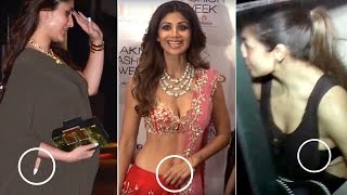 Bollywood Actors CAUGHT in the Most Embarrassing Situations..OOPS! width=
