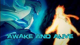 Naruto, killer Bee Vs Raikage AMV • Awake And Alive ♫♪