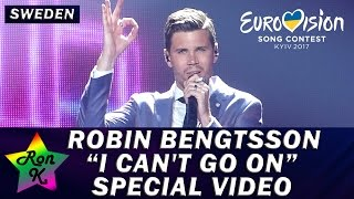 "Robin Bengtsson - ""I Can't Go On"" - Special Multicam video - Eurovision 2017 (Sweden)"