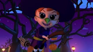 halloween noite | rima assustadora para crianças | vídeo infantil | Halloween Night Scary Song