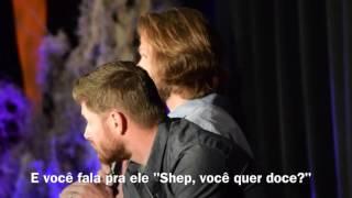 Jared sobre o vídeo do Shep dançando
