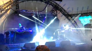 Eat Static - Glastonbury 2015 - The Glade  26/06/2015