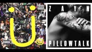 ZAYN vs Skrillex and Diplo with Justin Bieber - Pillowtalk vs Where Are U Now (Improved Version)