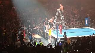 NJPW G1 Special in San Francisco Kenny Omega vs Cody ladder spot