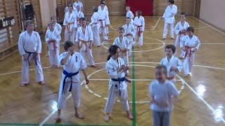 KKSKARATE - trening grupy młodzieży - kata