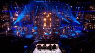 Finalists' group song Cee Lovely - The X Factor 2011 Live Results Show 4 - itv.com/xfactor