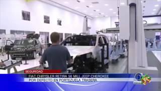 Fiat Chrysler retira 56 mil Jeep Cherokee