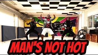 MAN'S NOT HOT || Petit Afro Choreo || Dj ChrissKillThatbeat || Afro Remix ||