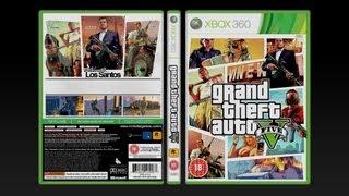 GTA 5 Cover and Box Art - Fan Art Design by Apex
