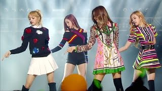 《EXCITING》 BLACKPINK (블랙핑크) - PLAYING WITH FIRE (불장난) @인기가요 Inkigayo 20161204
