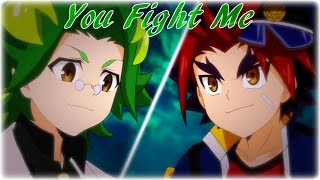 Buddyfight DDD Amv: Gao Mikado vs Kakeru Futaboshi [ Doctor Gara ] - You Fight Me [ Full ]