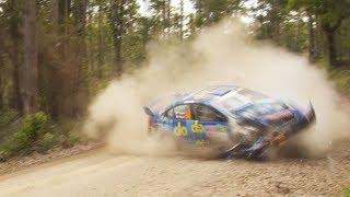 Rally Australia 2018: Massive CRASH Molly Taylor