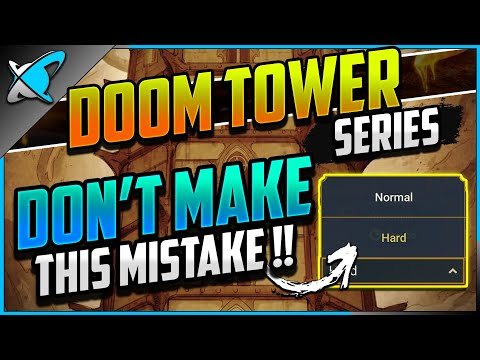 DON'T MAKE THIS MISTAKE... | 8 SEC Hard Stage 10 Teams !? | Doom Tower Day 1 | RAID: Shadow Legends