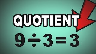 ➗ Learn English Words - QUOTIENT - Meaning, Vocabulary Lesson with Pictures and Examples