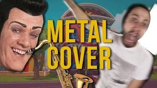 We Are Number One but it's a stupid metal cover