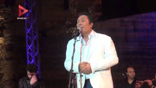 """علي الحجار يختتم """"مهرجان القلعة للموسيقى والغناء"""""""