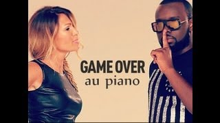 Vitaa Ft Maitre Gims : Game Over au piano
