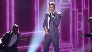 Eurovision Song Contest 2017  Robin Bengtsson / I Can't Go On /  Sweden   Rehearsal Full Effects