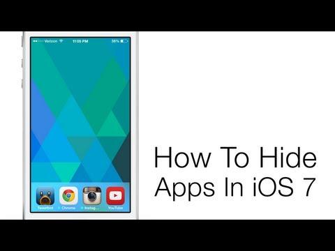 ta bort appar på iphone 7