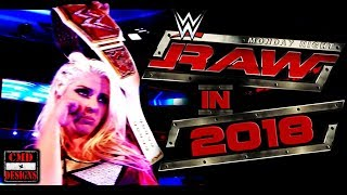 """WWE RAW Custom Intro """"Across The Nation"""" In 2018"""