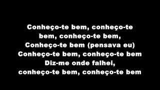 Bob Da Rage Sense - Conheço-te De Algum Lado (Letra)(HD)