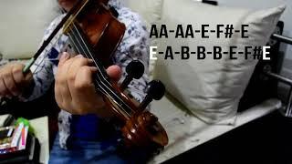 DIOS HÁBLAME violin (notas)