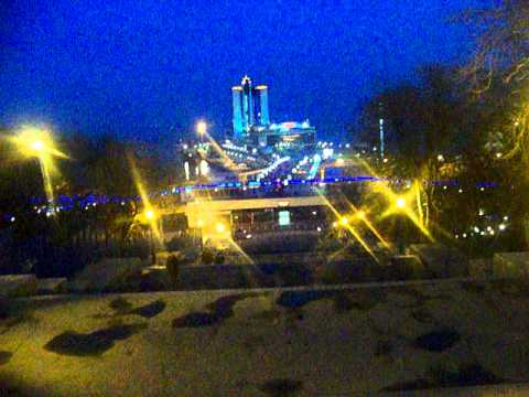 Night in Odessa, Ukraine