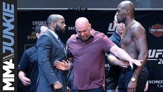 Headliners Daniel Cormier, Jon Jones discuss the stakes at UFC 214
