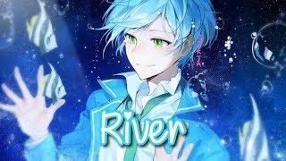 【Nightcore】↬ River (Cover by: Conor Maynard Ft. Anth / Lyrics)