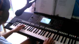 CZADOMAN - Ruda tańczy jak szlona YAMAHA PSR S750 + wokal