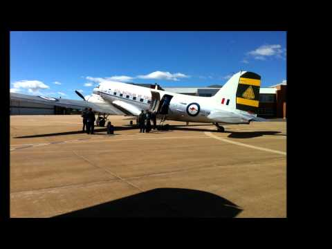 Caribou first flight with HARS to Canberra open day
