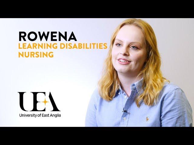Learning Disabilities Nursing: Rowena's story - video