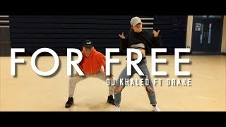 Dj Khaled Ft Drake - For Free | Chris Clark Choreography
