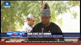 Ogun 2017 Summer : Amosun Charges Students On Good Conduct