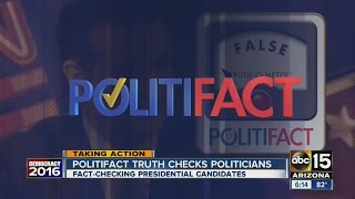 Politifact checks claims made by Ted Cruz and Bernie Sanders