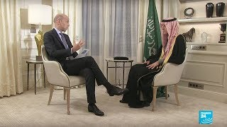 لقاء الوزير عادل الجبير على قناة France 24 الأربعاء 13/12/2017