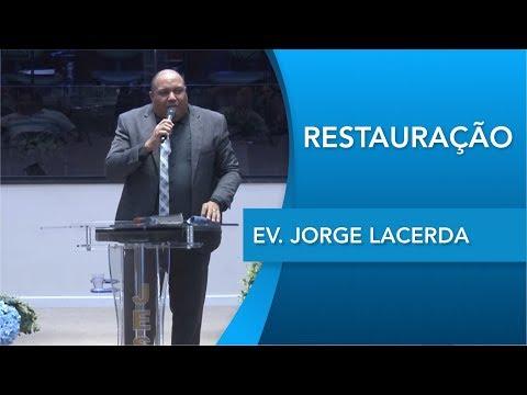 Ev. Jorge Larcerda   Deus de provisão   Es 8.22   28 11 2019