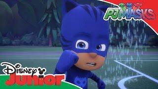 PJ Masks - Cat afraid of Water | Official Disney Junior Africa