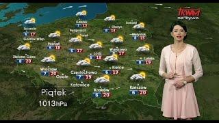 Prognoza pogody 24.04.2015