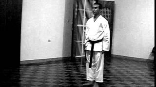 Octavio Blanco, karateka y salsero.