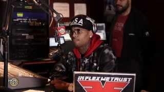 Chris Brown Freestyles over 'Started from the Bottom' on Funk Flex