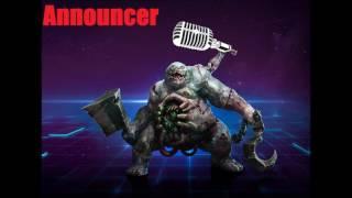 Stitches Announcer Quotes