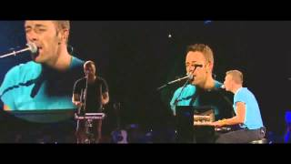 Coldplay - Up In Flames Live @ Madrid 2011 (HD and Widescreen)